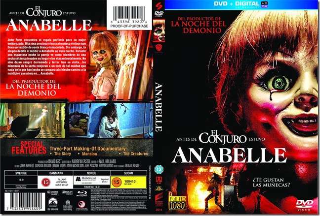 anabelle dvd